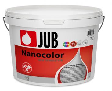 NANOCOLOR - samočistiaca silikónová fasádna farba