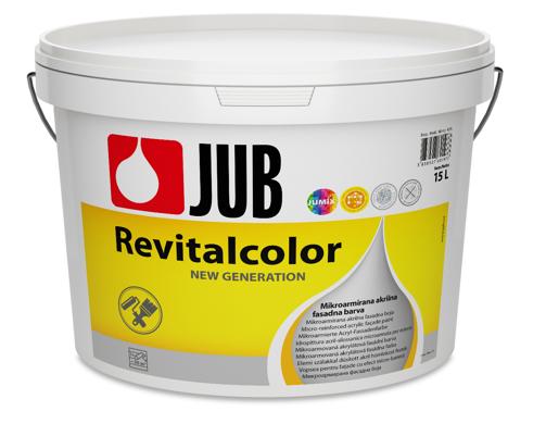 REVITALCOLOR - mikroarmovaná fasádna farba biely 5 l