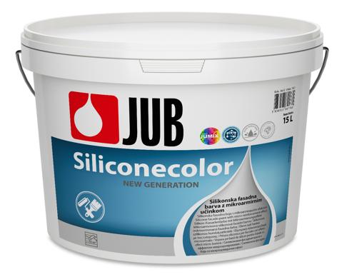 SILICONECOLOR - silikónová fasádna farba biely 5 l