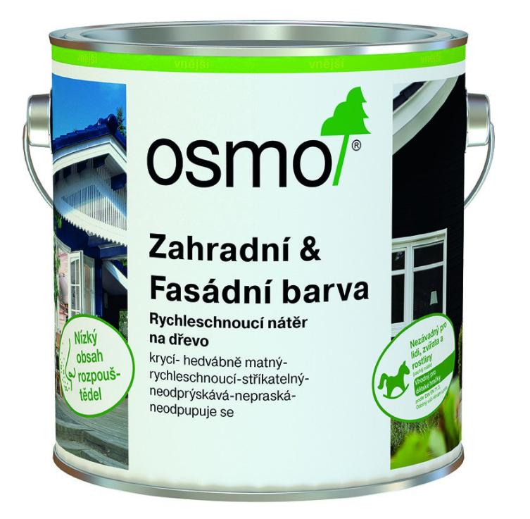 OSMO - Záhradná a fasádna farba RAL 9010 - biela 0,75 l