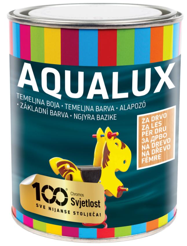 Aqualux základná farba na drevo