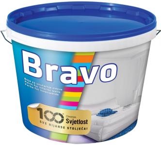 Bravo - biela interiérová farba na stenu
