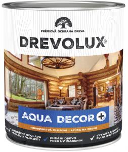 DREVOLUX AQUA DECOR + Hrubovrstvá olejová lazúra