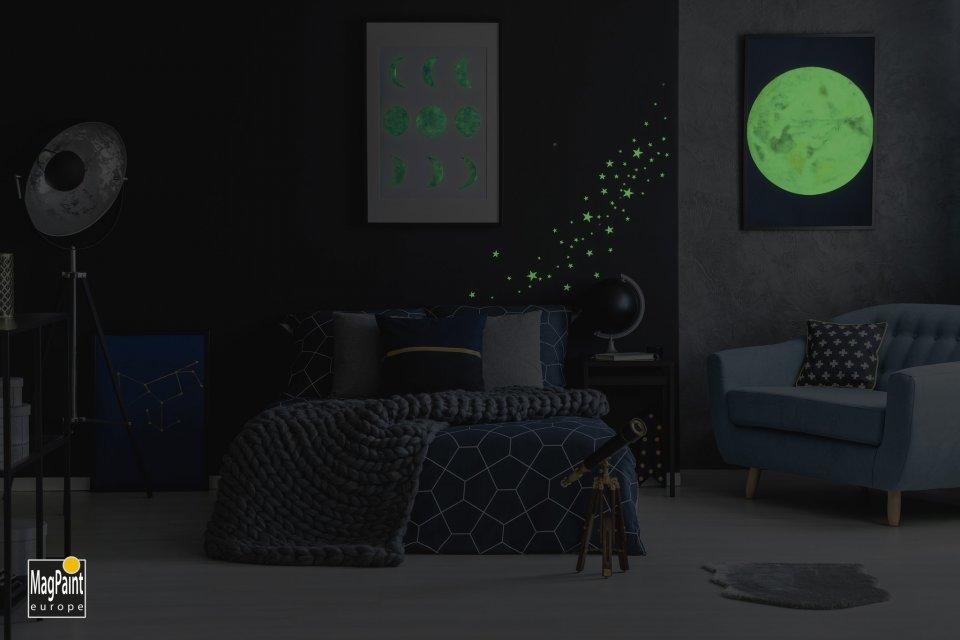 GLOWPAINT - Farba svietiaca v tme