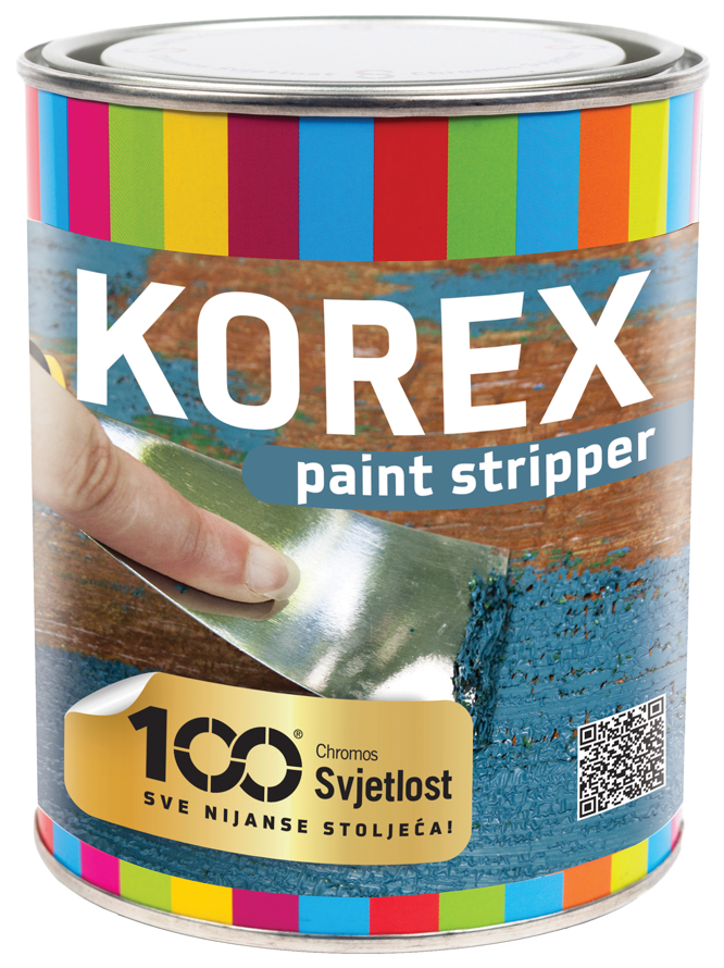 KOREX PAINT STRIPPER - Odstraňovač starých náterov