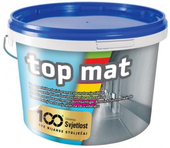 Top Mat - bezfarebný matný náter na sokel