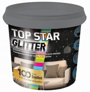 TOP STAR GLITTER - Dekoratívny náter s trblietkami