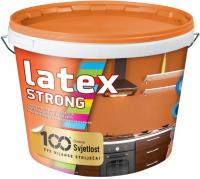 LATEX STRONG - matná odolná umývateľná biela farba