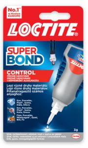 LOCITITE Super Bond Control - sekundové lepidlo