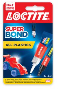 Super Bond All Plastics 2g+4ml - lepidlo na plasty