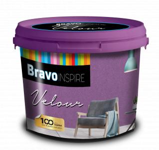 BRAVO INSPIRE VELOUR - Dekoračná farba s jemným efektom