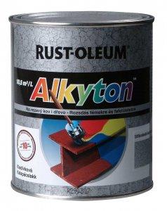 ALKYTON Kladivková farba na hrdzu 2v1