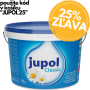 JUPOL CLASSIC - biela interiérová farba na steny